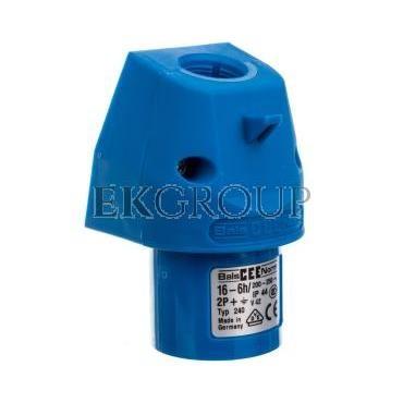 Wtyczka odbiornikowa naścienna GT 16A 3p 230V 6h IP44 240-174469