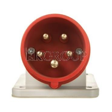Wtyczka maszynowa odbiornikowa 16A 5p 400V 6h IP44 2612-174477