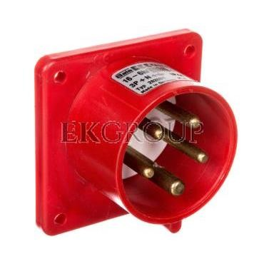 Wtyczka odbiornikowa tablicowa Quick-Connect proste 16A 5p 400V 6h IP44 282001-174465
