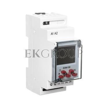 Programator czasowy 1-kanałowy tygodniowy Econo 230V AC ZCM-11E EXT10000185-174759