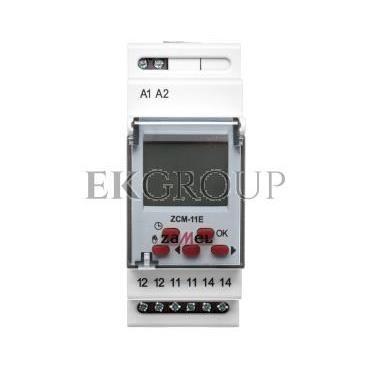 Programator czasowy 1-kanałowy tygodniowy Econo 230V AC ZCM-11E EXT10000185-174760