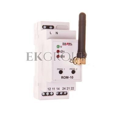 Radiowy odbiornik modułowy 2-kanałowy ROM-10 EXF10000044-168630