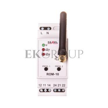Radiowy odbiornik modułowy 2-kanałowy ROM-10 EXF10000044-168631