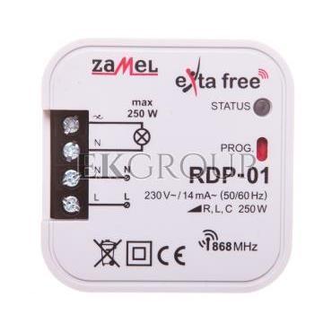 Radiowy ściemniacz dopuszkowy 1-kanałowy RDP-01 EXF10000021-168801