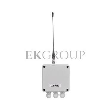 Radiowy wyłącznik sieciowy bez pilota dwukanałowy 230V 2Z IP56 zasięg 350m RWS-311D EXF10000098-174767