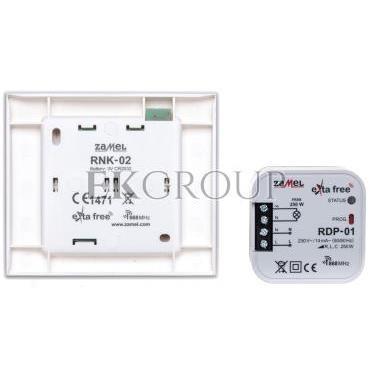 Zestaw sterowania bezprzewodowego (RNK02 RDP01) RZB-02 EXF10000071-174774