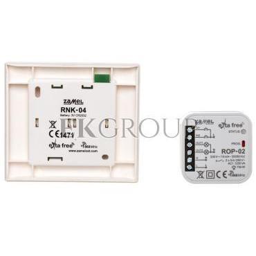 Zestaw sterowania bezprzewodowego (RNK04 ROP02) RZB-04 EXF10000075-174780