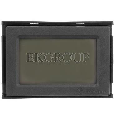 Termostat elektroniczny czarny do zabudowy  programowany tygodniowo 1C.51.9.003.2007-167042