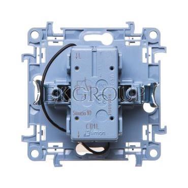 Simon 10 Przycisk /dzwonek/ z podświetleniem LED biały CD1L.01/11-170011