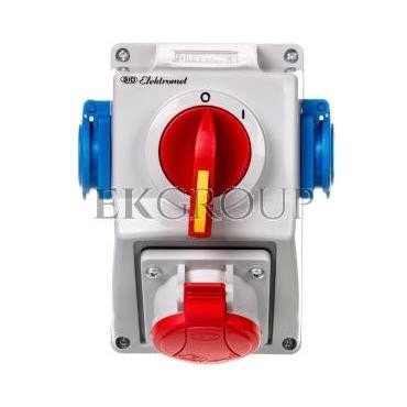 Zestaw instalacyjny rozłącznikiem O-I 1x16A 5P 400V, 2x16A 2P Z C16-18.2N IP54 971661-174993