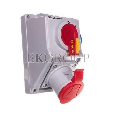 Zestaw instalacyjny z rozłącznikiem O-I 1x32A 4P 400V, 1x16A 2P Z C32-18.1 IP-54 974011-174997