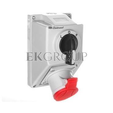 Zestaw instalacyjny z rozłącznikiem L-O-P 1x32A 4P 400V C32-48 IP-54 974003-175000