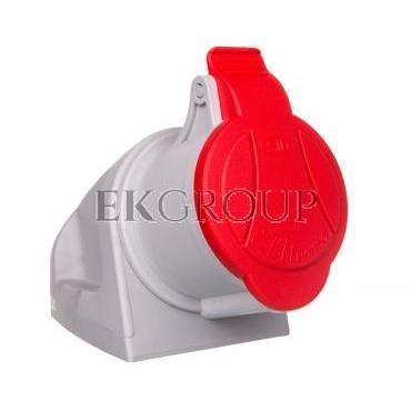 Gniazdo stałe MINI z dławikiem 4P 32A 400V czerwone GSM 32/4 IP-44 921866-167931