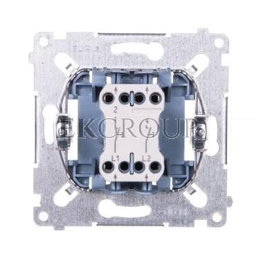Simon 54 Przycisk podwójny zwierny mechanizm 10AX 250V SP2M-171382