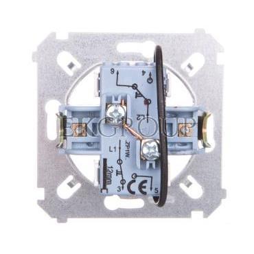 Simon 54 Przycisk żaluzjowy do sterowania z wielu miejsc mechanizm 10A 250V SZP1WM-171376