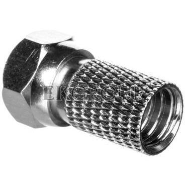 Wtyczka F 7mm /z uszczelką/ 81018 /100szt./-175092