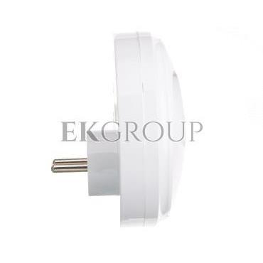 Rozgałeźnik wtyczkowy 3x2P okrągły biały R-35-172650