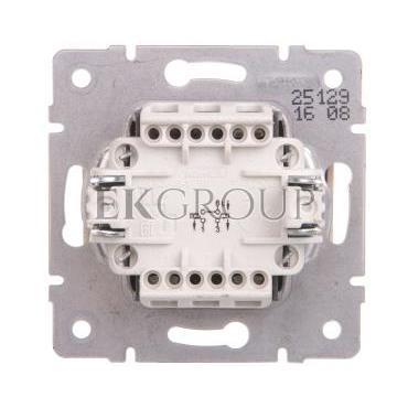 LOGI Łącznik zwierny podwójny śrubowy 10AX 250V kremowy 021022103 25129-171412