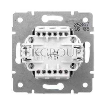 LOGI Łącznik zwierny podwójny śrubowy 10AX 250V grafit 021022141 25247-171415