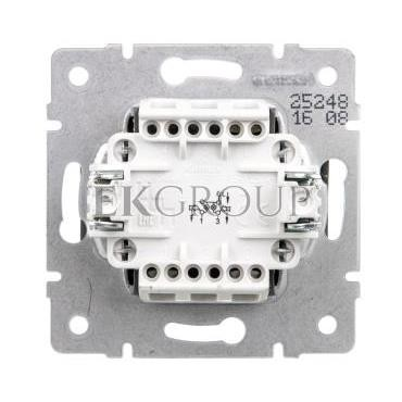 LOGI Łącznik zwierny podwójny LED śrubowy 10AX 250V grafit 021023141 25248-171424