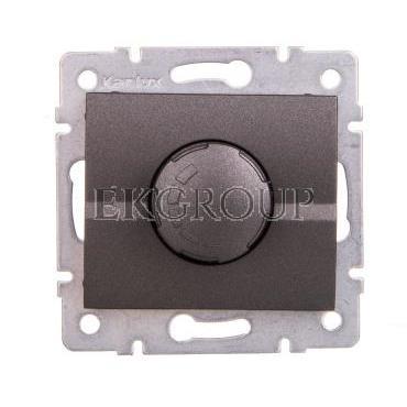 LOGI Ściemniacz obrotowy 500W z filtrem śrubowy 10AX 250V grafit 021160141 25260-173116