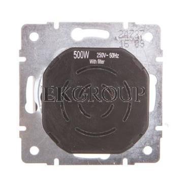 DOMO Ściemniacz obrotowy 500W z filtrem śrubowy 10AX 250V biały 011160102 24727-173122