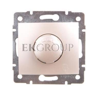 DOMO Ściemniacz obrotowy 500W z filtrem śrubowy 10AX 250V perłowy biały 011160130 24964-173127