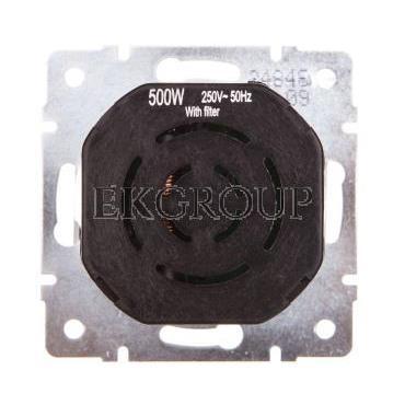 DOMO Ściemniacz obrotowy 500W z filtrem śrubowy 10AX 250V srebrny 011160143 24846-173130