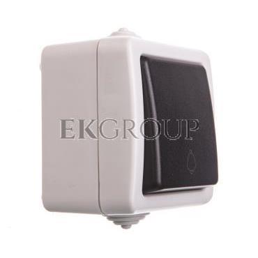 TEKNO Łącznik zwierny śrubowy 10AX 250V czarny IP54 25350-170657