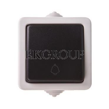 TEKNO Łącznik zwierny śrubowy 10AX 250V czarny IP54 25350-170658