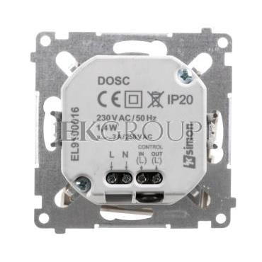 Simon 54 Oprawa oświetleniowa LED 230V z czujnikiem ruchu kremowy DOSC.01/41-169149