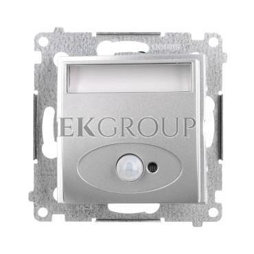 Simon 54 Oprawa oświetleniowa LED 230V z czujnikiem ruchu srebrny mat DOSC.01/43-169151