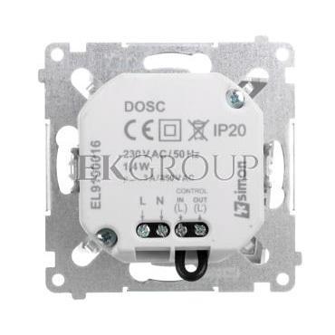 Simon 54 Oprawa oświetleniowa LED 230V z czujnikiem ruchu srebrny mat DOSC.01/43-169152