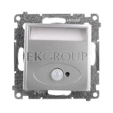 Simon 54 Oprawa oświetleniowa LED 14V z czujnikiem ruchu (0,42W) srebrny mat DOSC14.01/43-169154