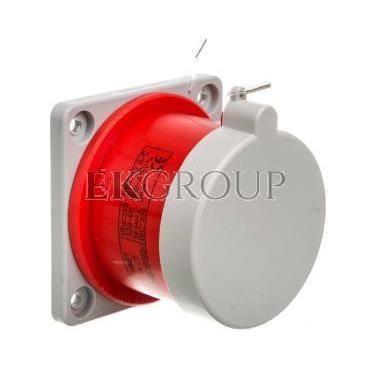 Wtyczka tablicowa prosta 32A 3P N Z 400V czerwona IP44 WTP 32 5 922035-174478