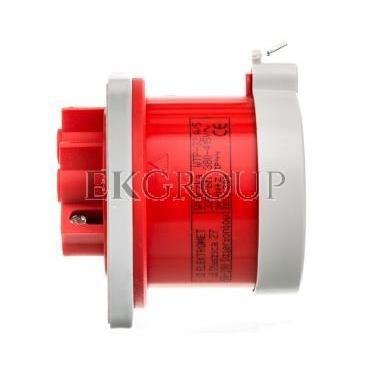 Wtyczka tablicowa prosta 32A 3P N Z 400V czerwona IP44 WTP 32 5 922035-174479