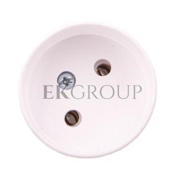 Gniazdo proste S 7 16 A 2P 250V białe 32-02002.01-174000