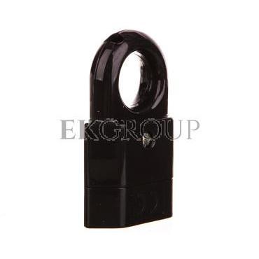Gniazdo przenośne z uchwytem b/u Euro 2,5A 250V czarne GP2C-2-168585