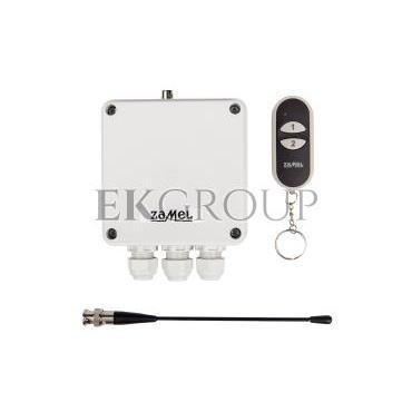 Radiowy wyłącznik sieciowy dwukanałowy z pilotem RWS-211D/N STI10000018-174643