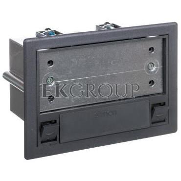 Simon Connect Puszka SF podłogowa pojedyncza 2xK45   SM102/9 szara SF110/1-166714