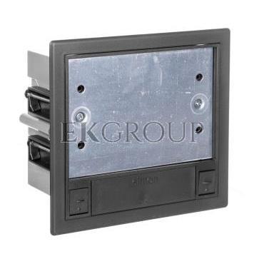 Simon Connect Puszka SF podlogowa podwójna 4xK45 szary grafit SF210/14-166728