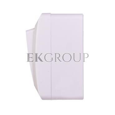 Hermes Przycisk dzwonek mechanizm z pełną obudową biały IP44 przycisk 1x ŁNT-1D 0337-02-169608