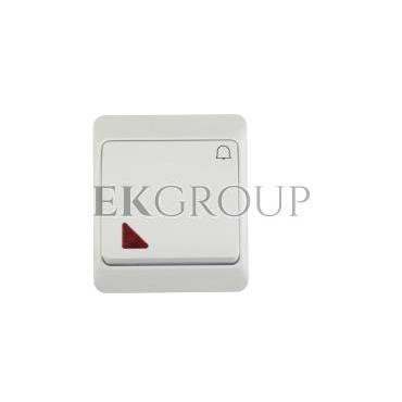 Hermes Przycisk /dzwonek/ IP44 biały ŁNT-1D n 0347-02-169497