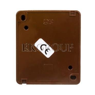 Hermes Przycisk hermetyczny dzwonek 10A IP44 brązowy 0337-06-169755
