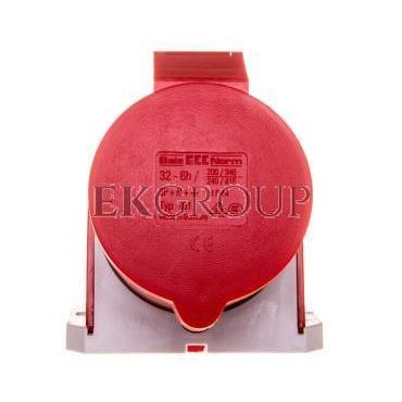 Gniazdo stałe 32A 5P 400V 6h IP44 101-167876