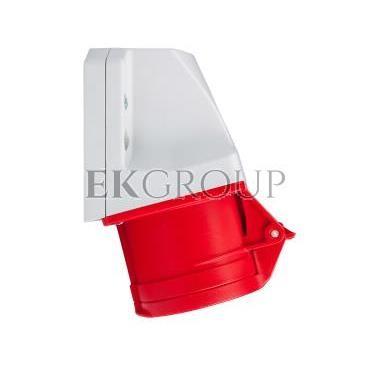 Gniazdo stałe 16A 5P 400V czerwone IP44 /mała obudowa/ 115-6k-167740
