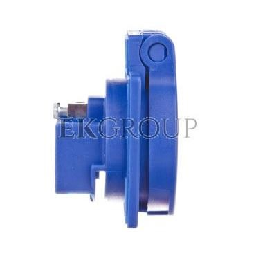 Gniazdo tablicowe 10/16A 2P Z 230V niebieskie IP54 1040-0bs-168251