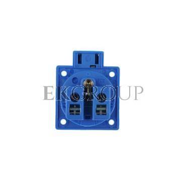 Gniazdo tablicowe 10/16A 2P Z 230V niebieskie IP54 1040-0b-168219