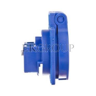 Gniazdo tablicowe 10/16A 2P Z 230V niebieskie IP44 1050-0bs schuko-168299