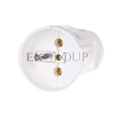 Gniazdo przenośne 10/16A 2P Z 230V białe IP20 08224-168550